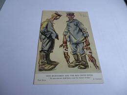 Carte Postale 14/18 Militaires Allemands Revenant De La Chasse Aux Lapins - 1914-18