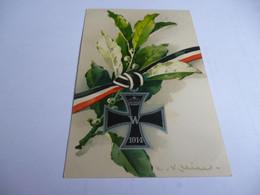 CARTE POSTALE 14/18   CROIX DE FER ALLEMANDE 1914 - 1914-18
