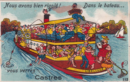 "CASTRES "" Carte A Systeme ""     N°10380 - Castres"