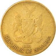 Monnaie, Namibia, Dollar, 1993, Vantaa, TB+, Laiton, KM:4 - Namibia