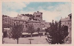 "BEAUCAIRE "" Place Du Chateau ""     N°10383 - Beaucaire"