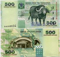 TANZANIA       500 Shilingi          P-35        ND (2003)       UNC - Tanzania