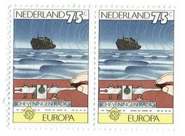 NETHERLANDS 1979 Europa Radio Mi 1141 Pair MNG - Ongebruikt