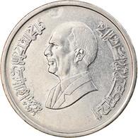 Monnaie, Jordan, Hussein, 10 Piastres, 1993/AH1414, TTB+, Nickel Plated Steel - Jordan