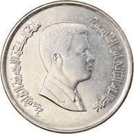 Monnaie, Jordan, Abdullah II, 10 Piastres, 2000/AH1421, TTB+, Nickel Plated - Jordan
