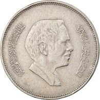 Monnaie, Jordan, Hussein, 50 Fils, 1/2 Dirham, 1984/AH1404, TTB, Copper-nickel - Jordan