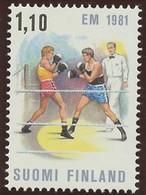 Finlande - Finnland - Finland 1981 Y&T N°842 - Michel N°878 *** - 1,10m Championnat D'Europe De Boxe - Ungebraucht