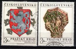 Tchécoslovaquie 1972 Mi 2071-2 (Yv 1915-6), Obliteré - Used Stamps