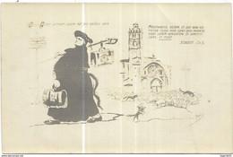 Monaco Nîmes Illustrateur Satirique J.Metteix - Bonus Pastor Joann. Ch.X.- Religion Séparation Eglise Etat - Rare - Unclassified