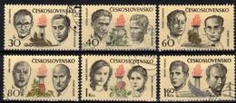 Tchécoslovaquie 1973 Mi 2126-31 (Yv 1971-6), Obliteré - Used Stamps