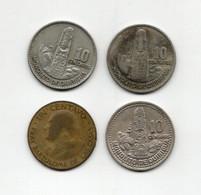 Guatemala - Anni Vari - Lotto 4 Monete - Vedi Foto - (FDC28875) - Guatemala