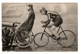 Cyclisme , Séres Stayers Entrainé Par Moreau - Ciclismo
