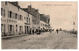 CPA 35 - CANCALE (Ille Et Vilaine) - 505. La Houle. Un Coin Du Port - A.G. - Cancale