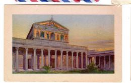 ROMA  Basilica Di S. Paolo - Castel Sant'Angelo