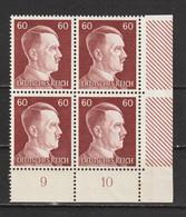 Adolf Hitler  MiNr. 797 ** Bogenecke  (0356) - Neufs