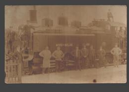 Locomotief Nord - Belge - Originele Fotokaart - Trains