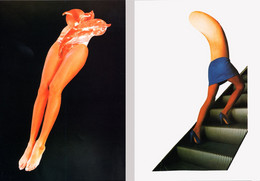 Nouveau Tomi Ungerer Atrophica Série De 8 Cartes Découpage Et Collage Année 1990 - Sin Clasificación