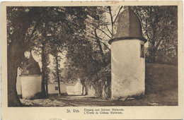 Sankt Vith - Eingang Zum Schloss Wallerode - Saint-Vith - Sankt Vith