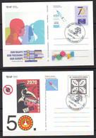 Croatia 2021 COVID-19 GET VACCINATED VACCINE Postcard Overprint (2) Postmark 10000 ZAGREB 3.03. - Croacia