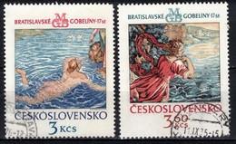 Tchécoslovaquie 1975 Mi 2265-6 (Yv 2110-11), Obliteré - Used Stamps