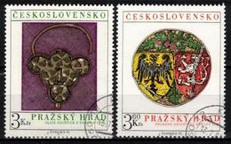 Tchécoslovaquie 1975 Mi 2291-2 (Yv 2136-7), Obliteré - Used Stamps