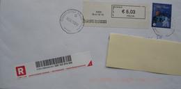 België 2013 Charleroi Ville Basse 6000 - Vignettes D'affranchissement