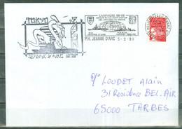 MARCOPHILIE - P.H. JEANNE D'ARC Campagne 98-99   Escale à TOKYO JAPON  Flamme Du P.H. Du 5 - 2 - 99. - Poste Navale