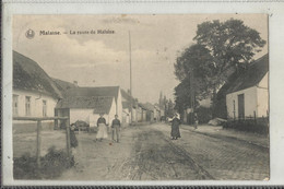 MALAISE (La Hulpe) - La Route De Malaise 1920 (rare) - La Hulpe