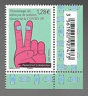 Andorre 2021 - Hommage Aux Efforts De Tous Face Au COVID-19 ** - Unused Stamps