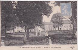 HENRICHEMONT(JEU DE PAUME) ARBRE - Henrichemont