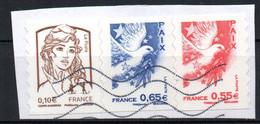 France Oblitéré Used 2008   N° 178 & 182   Cachet Vague - Non Classés