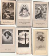 Lot 12 Souvenirs Pieux Décès Bertrix - Devotion Images