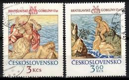 Tchécoslovaquie 1976 Mi 2319-20 (Yv 2163-4), Obliteré - Used Stamps