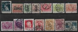 Polen 1921-1935 Lot Mi.-Nr. 168 .... 305 O/used - Sin Clasificación