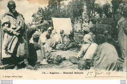 ALGERIE  SCENES ET TYPES  Marché Kabyle  ..... ( Ref FA1454 ) - Scene & Tipi