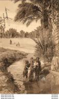 ALGERIE  SCENES ET TYPES  Enfant Se Baignant Dans Un Oued  ..... ( Ref FA1528 ) - Scene & Tipi