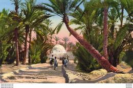 ALGERIE  SCENES ET TYPES  Sous Les Palmiers  ..... ( Ref FA1746 ) - Scene & Tipi