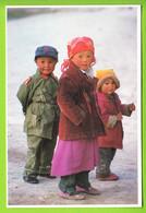 Children From Near KASHGAR. Tibet Serie, Photo By Mani Lama . 2 Scans. - Tibet