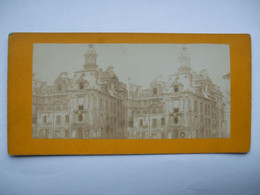 QUIN- PARIS- HOTEL ST PAUL-GARE DE L'EST- DESASTRES GUERRE DE 1870-71 - Cartoline Stereoscopiche