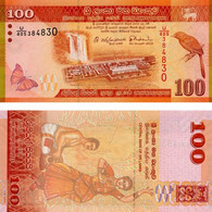 Sri Lanka 100 Rupees 2015 UNC (P125d) - Sri Lanka