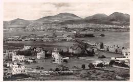 LAS PALMAS - PUERTO DE LA LUZ Y ALCARAVANERAS ~ AN OLD REAL PHOTO POSTCARD #211716 - Gran Canaria