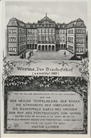 AK Worms, Bischofshof 1936 - Worms