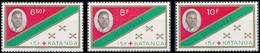 66/68** Croix-Rouge & 1er Anniversaire De L'indépendance / Rode Kruis En 1e Verjaardag Van Onafhankelijkheid - KATANGA - Katanga