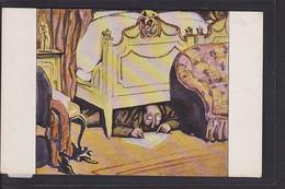 B34 /   Kunstkarte Paul Rieth / Hirth Jugend Postkarte / Der Hofberichterstatter - Otros Ilustradores