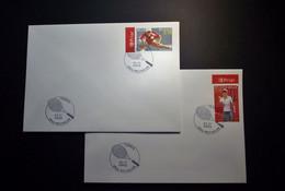 Belgie - Belgique - 2003 - OPB 3225/26 - Tennis - 2 Enveloppes Afgestempeld  21.11.2003 Mechelen - Usati