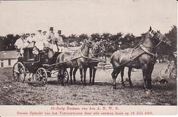 2032  7  25 Jarig Bestaan Van Den A N W B Groote Optocht Van Het Vervoerwezen Door Alle Eeuwen Heen Op 18 Juli 1908 (mi - Andere
