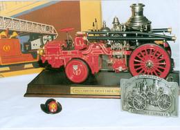 Carte De Membre Du Cercle Collectionneurs Du .Cantal : 2002  Thème : Les Pompiers - Zonder Classificatie