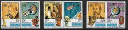 BURUNDI 1977  Telephone Centenary MNH - Telecom
