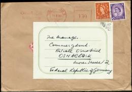 12483 England Fieldpost 909 Brief  - Osnabrück 1967 - Servizio