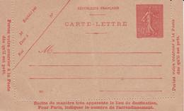 Semeuse 10 C Vierge Réf .SEL D1 1927 Date 823  Cote 10.00 - Letter Cards